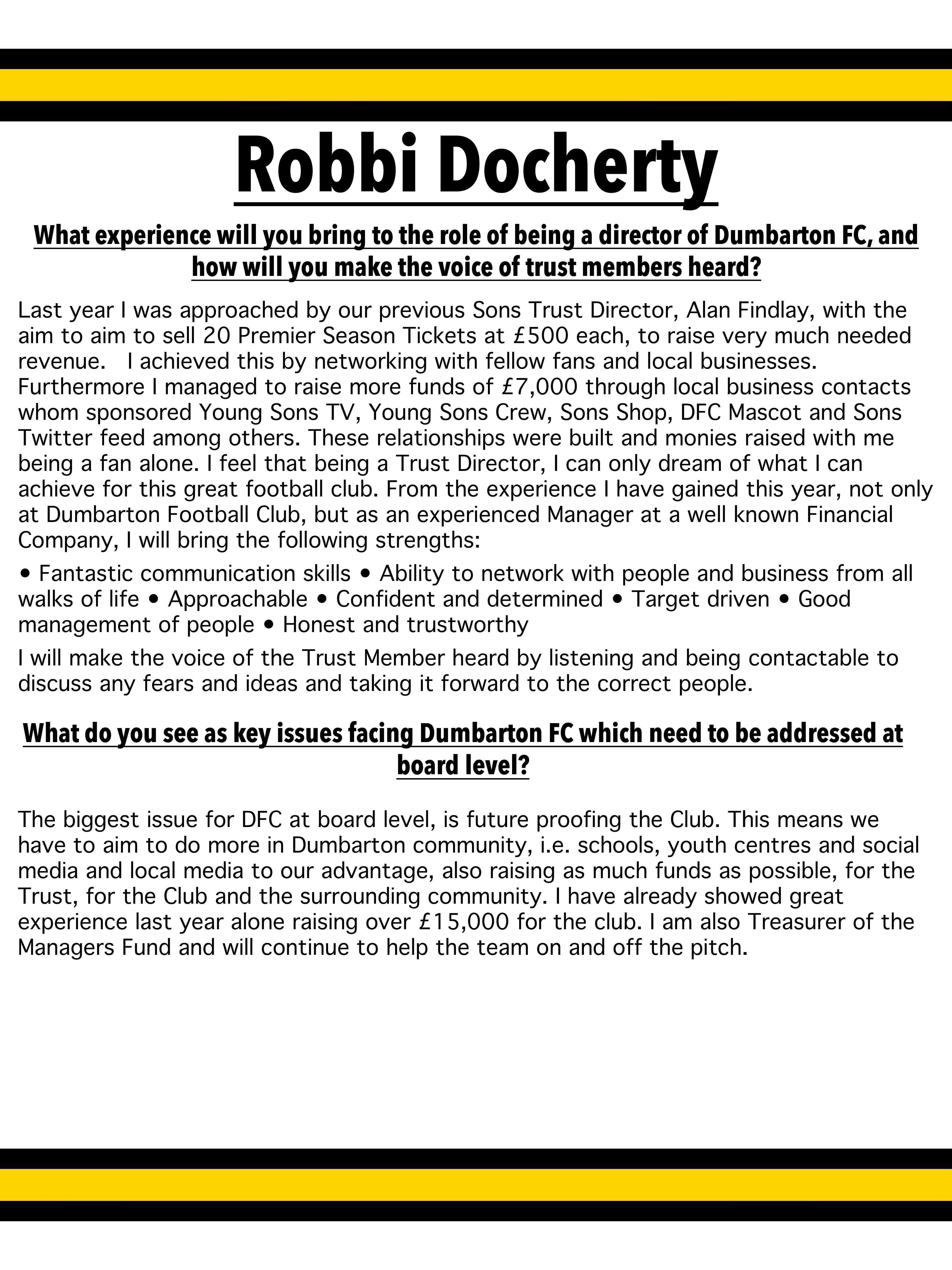 Robbi Docherty